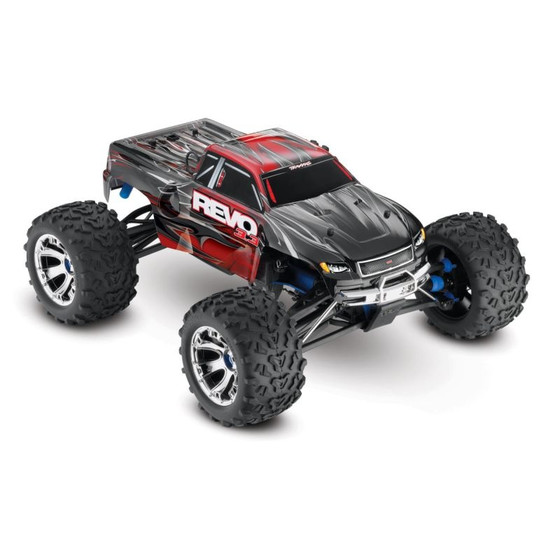 TRAXXAS Revo RTR 3.3R TQ-Wireless rot