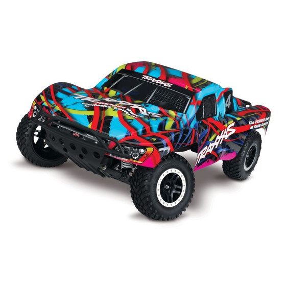 TRAXXAS Slash Hawaiian RTR +12V-Lader+Akku