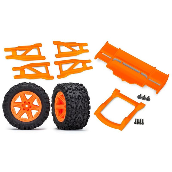 TRX Rustler 4x4 Upgrade Set orange