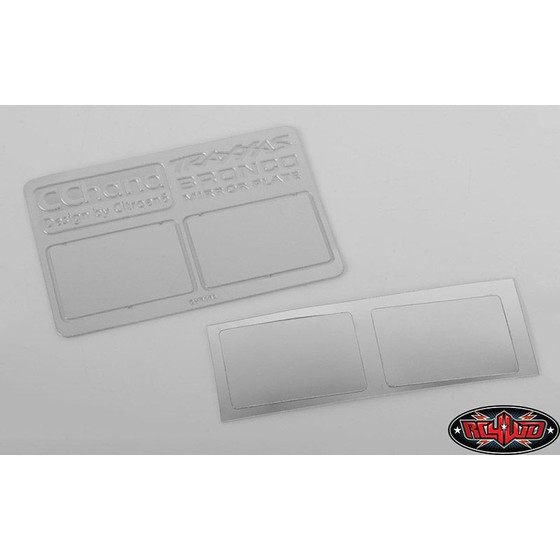 Mirror Decals for Traxxas TRX-4 79 Bronco Ranger XLT